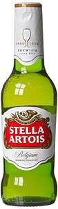 Stella Artois Lager Bottle, 20 x 284 ml - £6.50 - Amazon Fresh