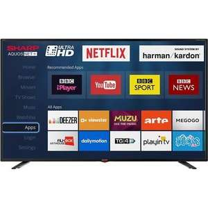 Sharp TV LC-40UI7352K 40 Inch Smart LED TV 4K Ultra HDWith HDR with free delivery £240 @ AO/Ebay