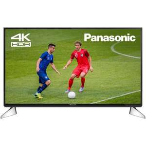 """Panasonic TX-40EX600B 40"""" Smart 4k with HDR + Freeview Play & free delivery £286.35 @ AO/Ebay"""