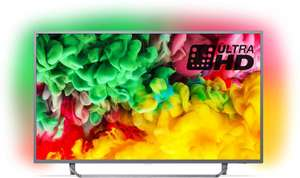 Philips 55PUS6753/12 55-Inch 4K Ultra HD Smart TV with HDR Plus, Freeview Play and Ambilight 3-sided (2018 Model) £440 for Prime members at Amazon