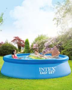 Intex 10ft quick set up pool  £29.99 at Aldi preorder online now or in store from 19th july (free delivery available) discount offer