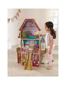 Kidkraft Wooden Disney Princess Belle Dollhouse (4ft tall) + Character Furniture was £136.98 now £76.98 Del @ Very