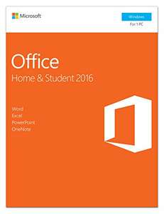 Microsoft Office Home and Student 2016 | PC | Download - £84.99 @ Amazon Prime Day