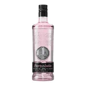Puerto De Indias Strawberry Gin only £19.90 + £4.95 delivery @ The Whisky World