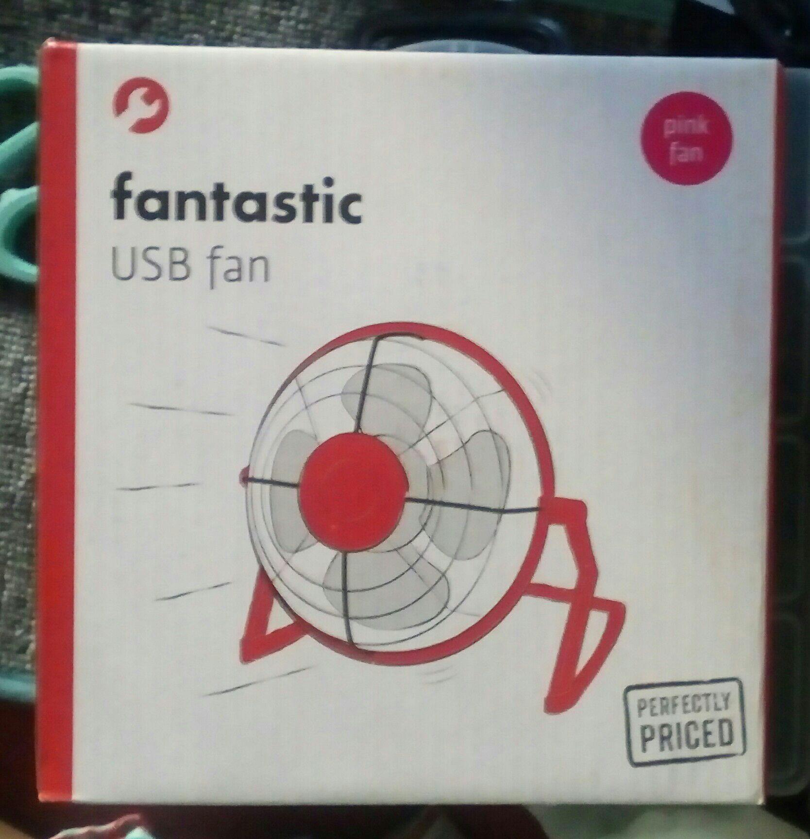 Mini Desk USB Fan £2 PoundLand