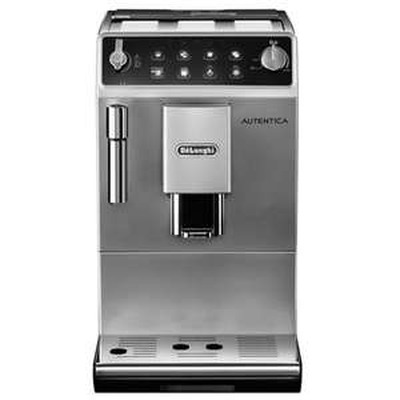 DeLonghi – Silver 'Autentica' bean to cup coffee machine ETAM29.510.SB £250 Debenhams