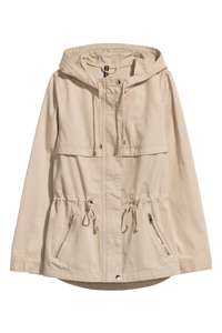 short parka with hood £6 H&M (£3.99 delivery or free for H&M club members)