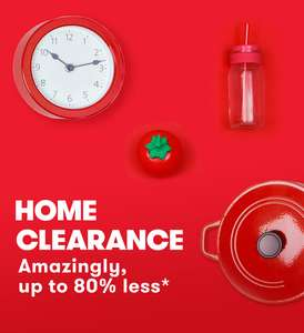 TKMaxx Clearance Sale – up to 80% less Today