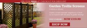 £30 off Garden Trellis with Code @ Scotts of Stow