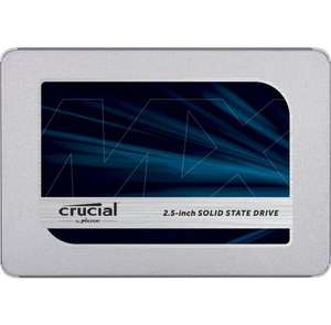 Crucial MX500 CT1000MX500SSD1(Z) 1 TB Internal SSD (3D NAND, SATA, 2.5 Inch) - £149.99 @ Amazon Prime Day