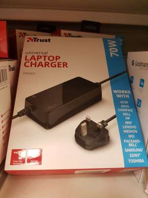 Trust universal laptop charger @ b&m in store - £5