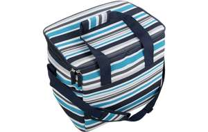 Halfords stipe family cool bag. Half price and extra 10% off until midnight. £6.75