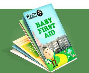 Get a free baby first aid guide via St Johns Ambulance