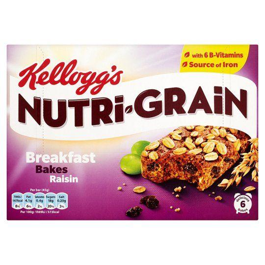 Nutrigrain breakfast bakes - £1.14 @ Tesco