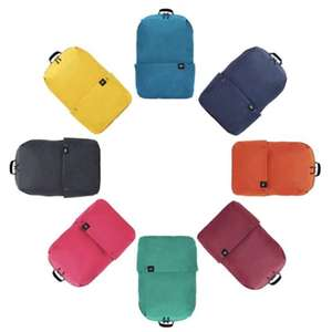 Xiaomi Solid Color Lightweight Water-resistant Backpack now £6.17 Delivered w/code @ RoseGal - all colours included