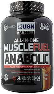 2KG USN Muscle Fuel Anabolic Muscle Gain Shake Powder (lots of flavours) £17.99 PRIME DAY DEAL