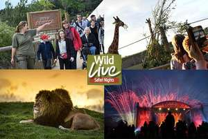 2 or 4 tickets to Yorkshire Wildlife Park inc Russell Watson, Heather Small, S Club 3 or Shane Filan Wildlive concert from £22.50 instead of £45 @ Wowcher