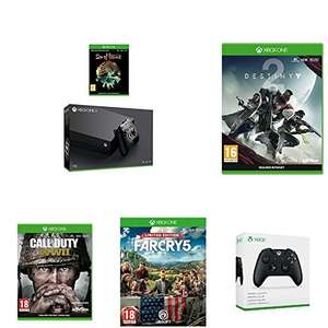 Xbox One X with Sea of Thieves, Destiny 2, Far Cry 5, and Call of Duty WWII plus a 2nd Black Controller £439 @ Amazon (Prime Day Deal) - Lightning deal