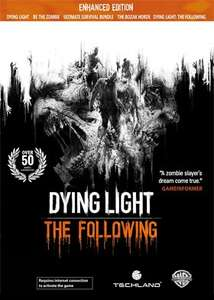 [Steam] Dying Light: The Following Enhanced Edition (Plus £10 discount voucher) - £11.99 - Razer Store