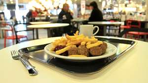 Ikea - All the furniture you can eat (whatever you spend in the cafe, you get off at the till)