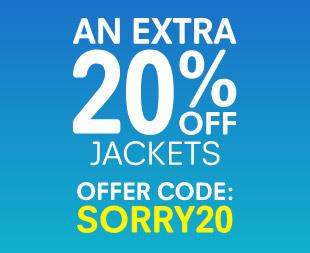 Extra 20% off Jackets @ Regatta