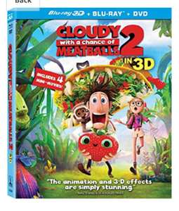 Blu rays £1 in poundland. New stock in e.g Cloudy with a chance of meatballs 2. 3D