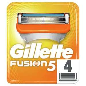Gillette Fusion Blades 2 packs of 4 for £15 @ Superdrug