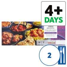 Tesco Take-Away Indian Meal for 2 Half-price - £4