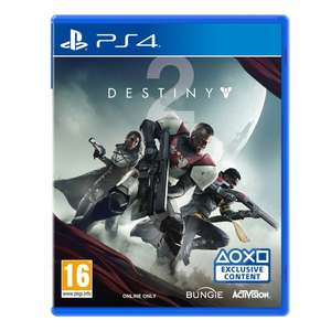 Destiny 2 PS4 (brand new) - £8 with PLAY20 code @ ao / eBAY