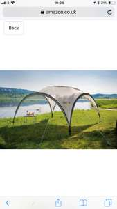 Coleman Gazebo Event Shelter 3.75x3.75 £81.40 @ Amazon (Prime Day Deal)