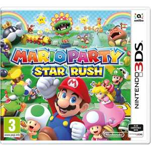 Mario Party Star Rush 3DS £18.99 + 950 Player Points worth £0.95 @ 365 Games