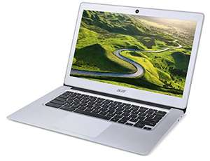 Acer NX.GC2EK.007 Chromebook CB3-431 14 -Full HD, 4 GB RAM, 32GB  - Silver £191.23 Used, like new (damaged packaging) Amazon warehouse £191.23 @ Amazon (Prime Day Deal)