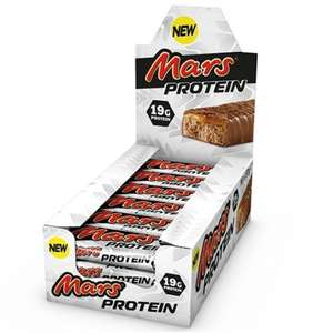 Protein Mars Bars - Past BBE - £9.95 / £13.94 delivered @ MuscleFood