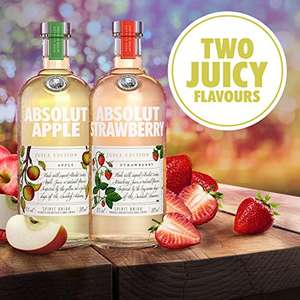 Absolut Juice Edition: Strawberry or Apple 50cl - £10.90 @ Amazon Prime