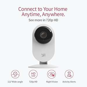 FREE YI Home Camera 720p, Wireless Wifi Camera with IP Security Surveillance System and Night Vision for Baby/Pet/Elder (UK Edition) (White) - Free - Sold by YI / Fulfilled by Amazon - Prime Day Deal