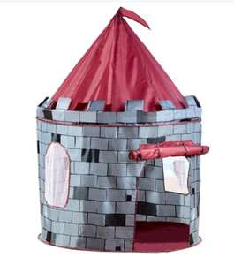 Pop up Knights Castle play tent - instore £7 Poundworld