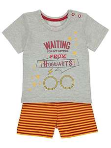 HARRY POTTER T-SHIRT & SHORTS OUTFIT £3  In store and via Click and Collect @ ASDA