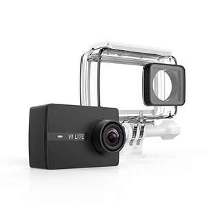 """YI Lite Sports Action Camera Ultra 16MP WIFI 2.0"""" LCD Touchscreen Sony Sensor Helmet Camera 40M Diving Underwater Camera £25 delivered Sold by YI Official Store UK and Fulfilled by Amazon."""
