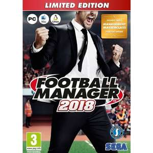 Football manager 2018 PC (in store collection) £5 Smyths Toys