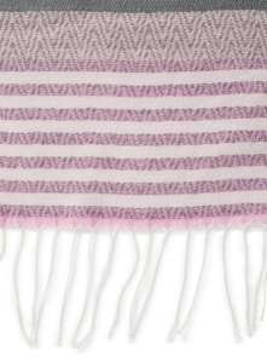 Grey Pink Chevron Scarf £1.80 (was £16.00) using code @ Miss Selfridges - Free C+C