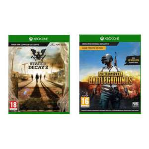 [XBox] State of Decay 2 + PlayerUnknown's Battleground £22.99 @ Game