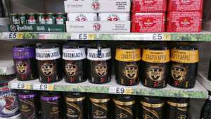 Tesco Victors cider and beer kit - £3 instore - Farnworth