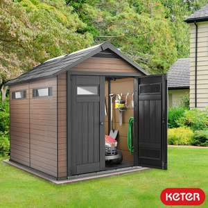 "Keter Fusion 7ft 6"" X 9ft 5"" (2.3 x 2.9m) Shed - £899.89 delivered @ Costco"