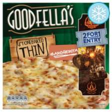 Goodfella's Stonebaked Thin Pizza (DIFFERENT VARIETY AVAILABLE) £1.00 instore at Tesco