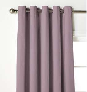 ColourMatch Thermal Blackout Curtains - 117x137cm - Blush £11.99 @ ARGOS