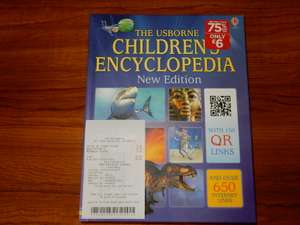 The Usborne Children's Encyclopedia New Edition (Hardback) at WHSmith in store £5 / Northampton, possibly others as well