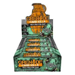 Grenade Carb Killa - 3 boxes of 12 for £40.62, possible c.£1 per bar with H&B voucher