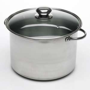 Style Works Stainless Steel Stock Pot £!0 @ Wilko