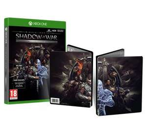 [Xbox One] Middle-earth: Shadow of War Silver Edition (Inc Steelbook) - £16.86 - Shopto