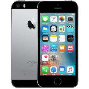 iPhone SE Premium Pre-Owned 16GB in Space Grey SAVE £70 - £149 @ AO